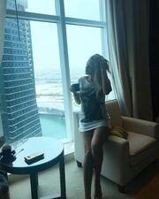 Πάσχα στο Ντουμπάι για γνωστή Ελληνίδα της σόουμπιζ