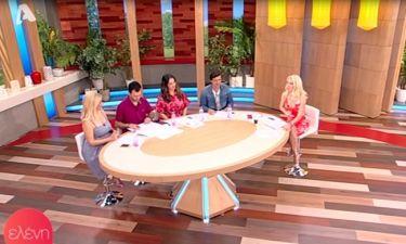 Η απίστευτη παρατήρηση της Ελένης on air! Έκλαιγαν από τα γέλια οι συνεργάτες της