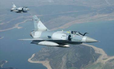ΕΚΤΑΚΤΟ: Πτώση Mirage 2000-5 της Πολεμικής Αεροπορίας ανοιχτά της Σκύρου - Αγνοείται ο πιλότος