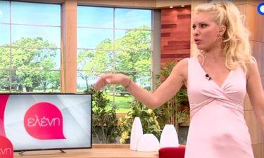 Ελένη: Προκάλεσε «πυρετό» σε συνεργάτη της με το σούπερ σέξι φόρεμά της