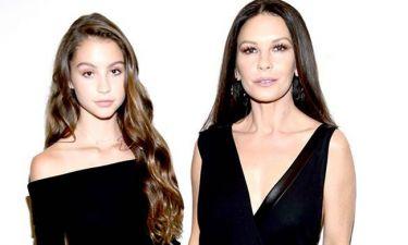 Φτυστή η μαμή της η 14χρονη κόρη της Catherine Zeta-Jones