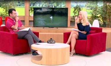Ελένη: Η βόλτα της με τον Μάκη στη Λίμνη της Βουλιαγμένης και η βουτιά του