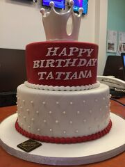 Γενέθλια για την Τατιάνα Στεφανίδου- Δείτε την εντυπωσιακή της τούρτα