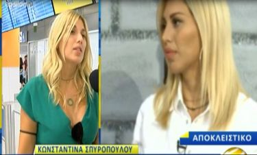 Η Σπυροπούλου μιλά πρώτη φορά on camera για τη σωματική βία που δέχθηκε από σύντροφό της