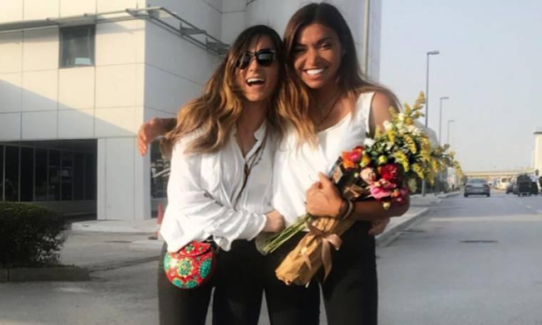 Γωγώ Φαρμάκη: Ήρθε η αδελφή της και «πετάει» από τη χαρά της