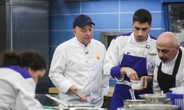 Hell's Kitchen: Η έκπληξη των παικτών στον Έκτορα Μποτρίνι