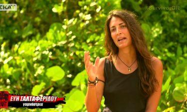 Survivor 2: Εύη: «Ο Σώζων είναι στην κοσμάρα του ελπίζω να σταματήσει ν' ασχολείται μαζί μου»