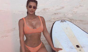 Kim Kardashian: Την «έκραξαν» στο instagram για το νύχι των ποδιών της