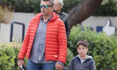 Ώρες αγωνίες για τον Γιώργο Λιάγκα. Ο μικρός του γιος, Δημήτρης στο νοσοκομείο (Nassos blog)