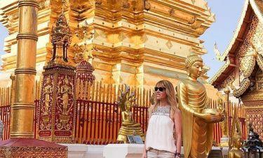 Χαλαμανδάρη: To ταξίδι ζωής στην Ταϋλάνδη της Ελληνίδας δημοσιογράφου, σύζυγο Ισπανού γαλαζοαίματου!