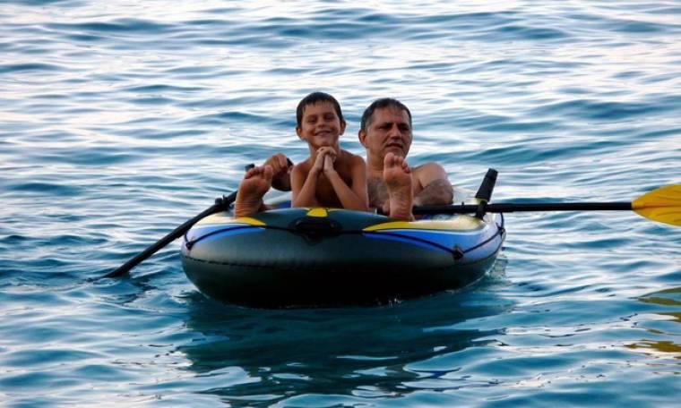 Νίκος Πορτοκάλογλου: Η φωτογραφία από τα παρελθόν με το γιο του