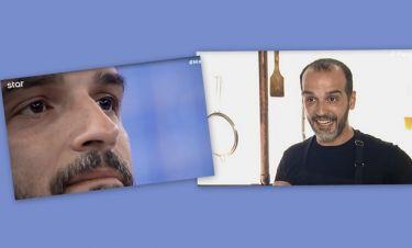 MasterChef: Αποχώρησε ο Γιώργος Φασιλής! Τα δάκρυα συγκίνησης και η ποδιά!