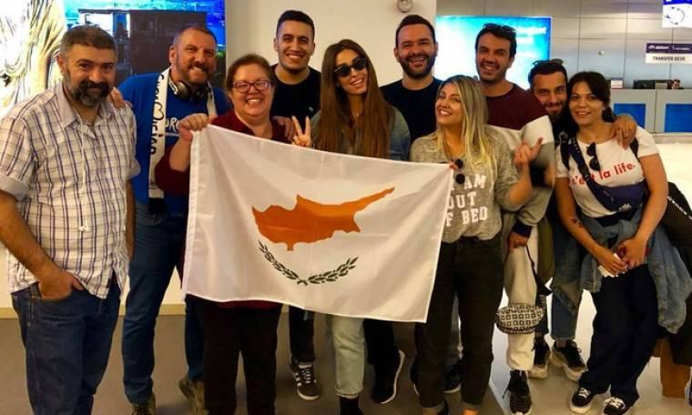 Eurovision 2018: Η Φουρέιρα έφυγε για Λισαβόνα!