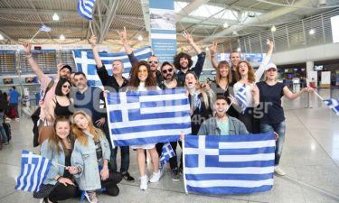 Eurovision 2018: Έφυγε η ελληνική αποστολή για Πορτογαλία!
