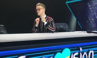 Eurovision 2018: Το μήνυμα του Τσέχου μετά τον τραυματισμό του: «Δεν μπορώ καν να περπατήσω»