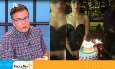 Happy Day: Η φαρμακερή ατάκα για τις τρεις τούρτες που έσβησε η Σωτηροπούλου!