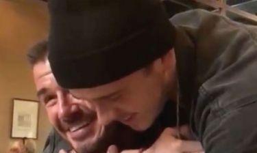 Ξέσπασε σε κλάματα ο Μπέκαμ στα γενέθλιά του (video)