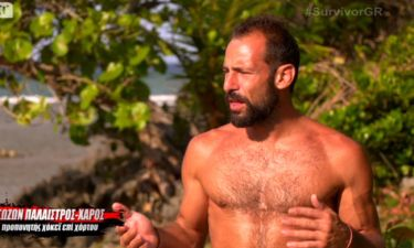 Survivor 2: Επιμένει ο Χάρος για το bullying από τον Κρητικό: «Μου έχει κόψει το οξυγόνο μου»