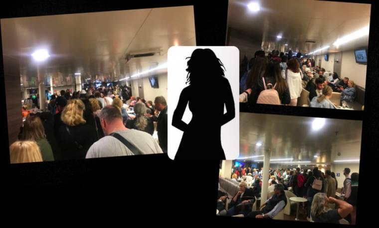 Έξαλλος ο κόσμος με παρουσιάστρια σε καράβι στη Ραφήνα (Βίντεο) (Nassos Blog)