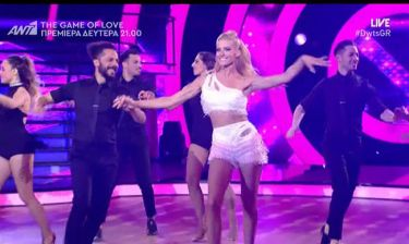 DWTS: Εντυπωσίασε η Αραβανή με την σεξι χορογραφία της στον μεγάλο τελικό