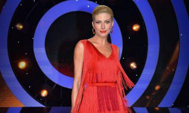 Η Ευαγγελία Αραβανή φόρεσε το πιο τέλειο φόρεμα για τον τελικό του DWTS