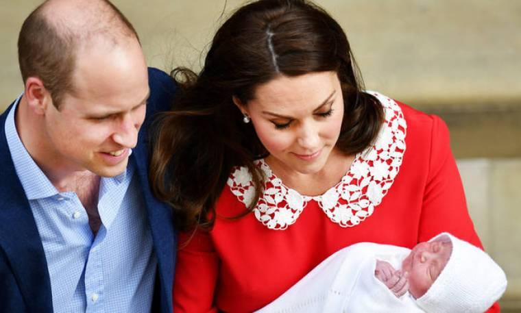 Οι πρώτες φωτογραφίες του νεογέννητου πρίγκιπα Λούι