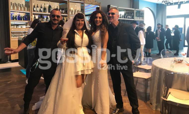 Eurovision 2018: Η συνάντηση της Γιάννας Τερζή με το φαβορί, τη Νέτα από το Ισραήλ