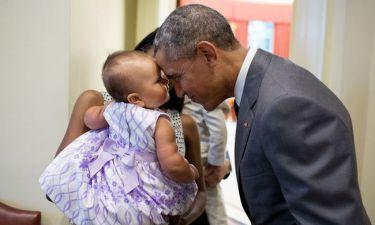 #ObamaAndKids: Το hastag που κάνει θραύση στο διαδίκτυο