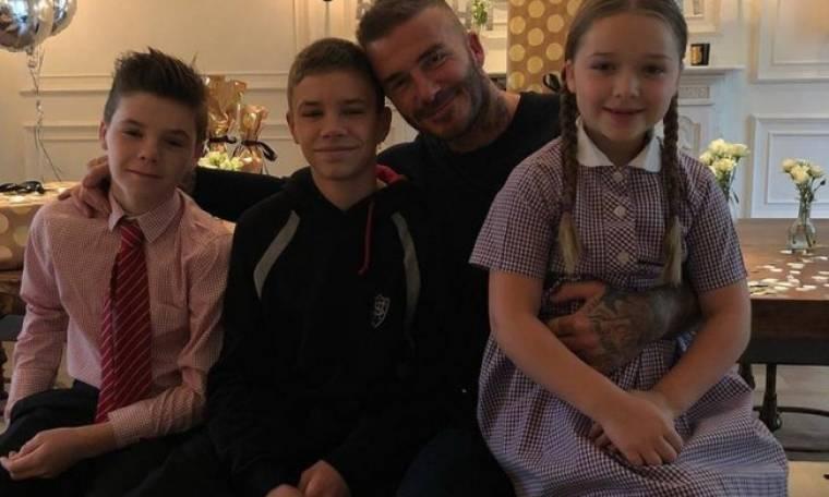 Η Harper Beckham έσπασε τον κουμπαρά της και πήρε στον μπαμπά της δώρο αξίας 5.600€