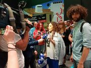 Eurovision 2018: Εντυπωσίασε στο press room η Γιάννα Τερζή