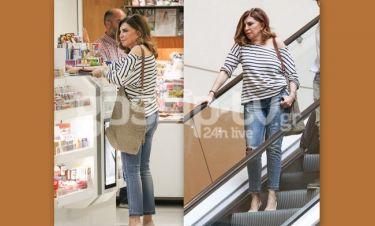 Μιμή Ντενίση: Για ψώνια με casual διάθεση