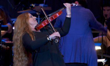 Η εμφάνιση της Ευανθίας Ρεμπούτσικα στο Μέγαρο Μουσικής