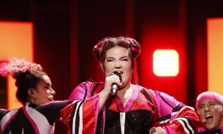 Eurovision 2018: Δείτε τη Netta του Ισραήλ να πέφτει στα σκαλιά του Green Room!