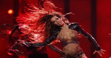 Eurovision 2018: Ο τρελός πανηγυρισμός της Ελένης Φουρέιρα σε ξένο μέσο!