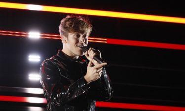 Eurovision 2018: Σουηδία: Εντυπωσίασε ο Benjamin Ingrosso με τα οπτικά εφέ