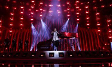 Eurovision 2018: Ουκρανία: Ο Mélovin το πιάνο και οι φωτιές
