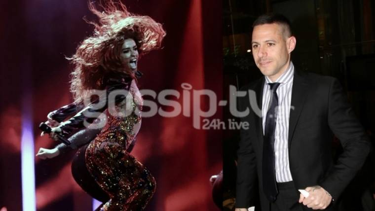 Eurovision 2018: Ο Πάρις Κασιδόκωστας στη Λισαβόνα για να στηρίξει τη Φουρέιρα