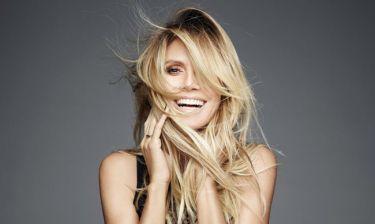 Η Heidi Klum είναι 44 ετών, ποζάρει topless και αμακιγιάριστη και δεν την νοιάζει τίποτα