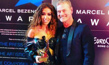Eurovision 2018: Το… πρώτο βραβείο της Φουρέιρα