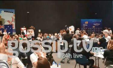 Eurovision 2018: Κύπρος: Ξεσήκωσε και το press center η Φουρέιρα