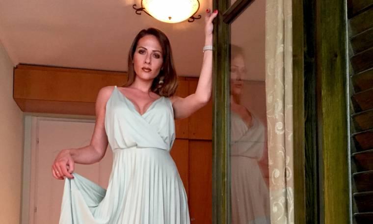 Μαρία Δεληθανάση: Η σύζυγος του Δόξα μας δείχνει την κορούλα της και στέλνει τις ευχές της