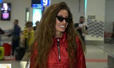 Eurovision 2018: Φουρέιρα: Όσα αποκάλυψε κατά την άφιξή της! Ο Μποτία και το ευχαριστώ στην Αλβανία