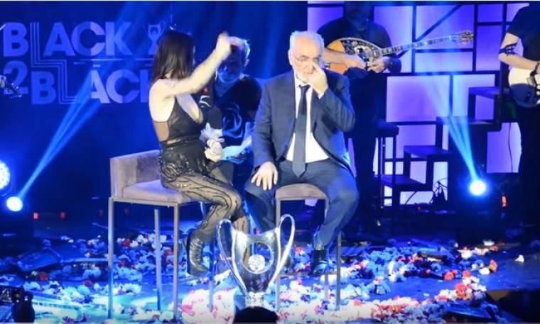 ΠΑΟΚ: Το τραγούδι της Πάολα που «λύγισε» τον Ιβάν Σαββίδη στην πίστα! (video)