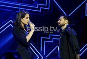 Βουλγαράκη-Μάστορας μαζί στην σκηνή