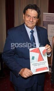 Αλέξης Μανθεάκης: Παρουσίασε το νέο του βιβλίο «Athina Onassos the red file»- Αποκαλύψεις «φωτιά»