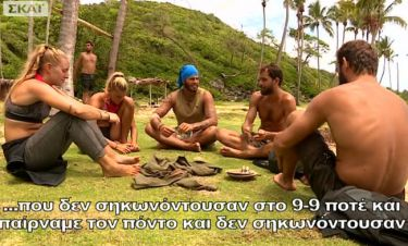 Survivor 2: Πικραμένη η Δαλάκα με τον Νάσο- Προσβεβλημένος ο Χάρης από τους μαχητές