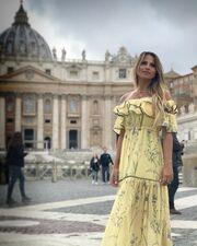Σόφη Πασχάλη: Στη Ρώμη με το ολόσωμο μαγιό της