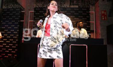 Demy: Τραγούδησε για τους fans της σε πάρτι εταιρίας ρούχων.