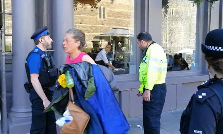 Η αστυνομία απομάκρυνε τους άστεγους έξω από το Ουίνδσορ πριν τον γάμο Harry-Markle
