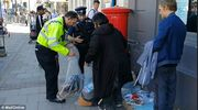 Η αστυνομία απομάκρυνες τους άστεγους έξω από το Ουίνδσορ πριν τον γάμο Harry-Markle